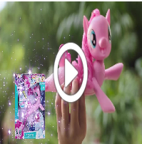 My little Pony Movie Schwimmendes Seepony Pinkie Pie