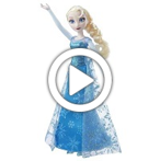 Disney Frozen Musical Lights Elsa - 360 video