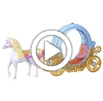 Disney Princess Cinderella's Magical Transforming Carriage - 360 video