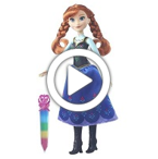 Disney Frozen Crystal Glow Anna - 360 video