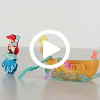 Disney Princess Little Kingdom Ariel's Floating Dreams Boat