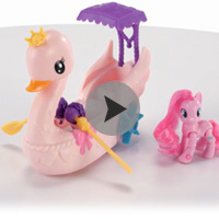 My Little Pony Schwanenboot Produktdemo Video B3600
