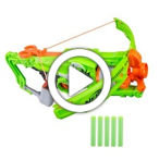 Nerf Zombie Strike Outbreaker Bow - demo new video