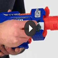 Nerf N-Strike Elite Stockade Produktdemo-Video