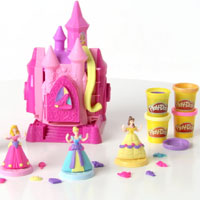 PLAY-DOH Disney Princess Prettiest Princess Castle Demo Video