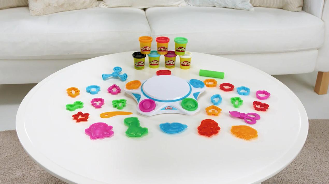 Play-Doh Touch Shape to Life Studio Product Demo