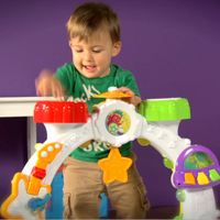 Playskool RockTivity Sit Crawl n Stand Band Video