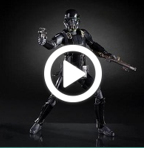 Star Wars The Black Series Rogue One IMPERIAL DEATH TROOPER - 360 video