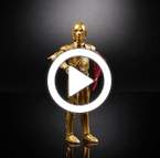 Star Wars The Black Series C-3PO - 360 video