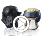Star Wars Black Series Titanium Series Imperial Death Trooper & Rebel Commando - 360 video