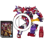 Transformers Generations Titans Return Autobot Sovereign and Alpha Trion  - 360 video