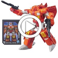 Transformers Generations Titans Return Autobot Infinitus and Sentinel Prime  - 360 video