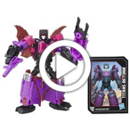 Transformers Generations Titans Return Titan Master Vorath and Mindwipe - 360 video