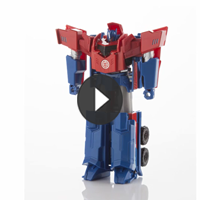 TRANSFORMERS 3 PASOS MÁGICOS Optimus Prime - 3D video
