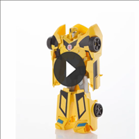 TRANSFORMERS 1 PASO MÁGICO Bumblebee - 3D video
