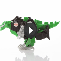 TRANSFORMERS 1 PASO MÁGICO Grimlock - 3D video