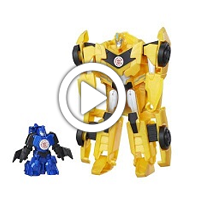 Activator Combiner Bumblebee & Stuntwing - 360 Grad-Video