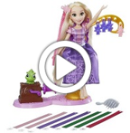 Disney Princess Rapunzel's Royal Ribbon Salon - 360 video