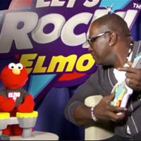 Randy and Let's Rock! Elmo Rock Out