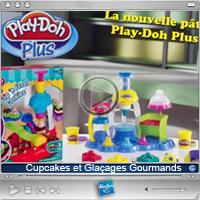 Playdoh Cupcakes et Glaçages Gourmands