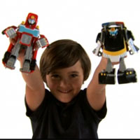 PLAYSKOOL Heroes Transformers Rescue Bots Video