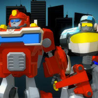 PLAYSKOOL Heroes Rescue Bots Commercial