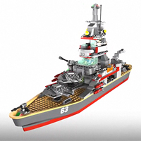 KRE-O BATTLESHIP U.S.S. MISSOURI Digital Build