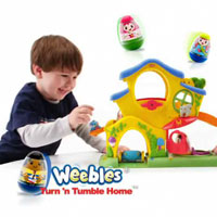 PLAYSKOOL WEEBLES Turn 'N Tumble Home Commercial