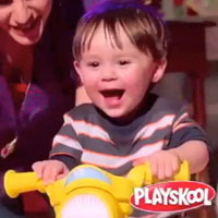 Playskool RockTivity Rider Commercial