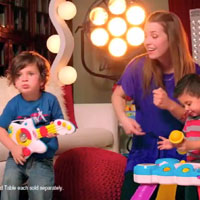 Playskool RockTivity Table Commercial