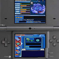 BEYBLADE METAL MASTERS Game for DS