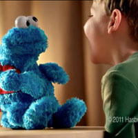 PLAYSKOOL Sesame Street Count 'N Crunch Cookie Monster
