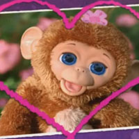 Furreal Friends Cuddles My Giggly Monkey Pet TV commercial