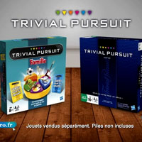 TRIVIAL PURSUIT - Pub TV - Trivial Pursuit Famille & Master