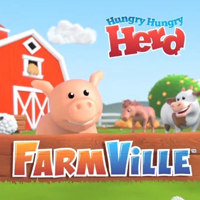 ZYNGA FARMVILLE HUNGRY HUNGRY HERD TV commercial