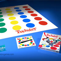 TWISTER Follow the Bouncing Dot