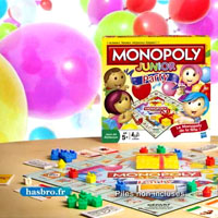 MONOPOLY - Pub TV - Monopoly Junior, Junior Party et Cars