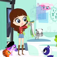 LITTLEST PET SHOP TV Show Clip - Mean Isn't Your Color Pt. 2