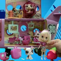 LITTLEST PET SHOP BLYTHE LOVES Jet Video