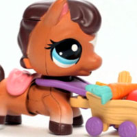 LITTLEST PET SHOP Walkables Pets Video - New!