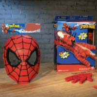 SPIDERMAN - PubTV Masque, lance-fluide et figurines de combat