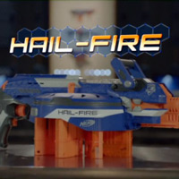 N-STRIKE ELITE HAIL-FIRE Blaster Long Form Commercial
