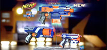 NERF N-STRIKE ELITE STRYFE, STRONGARM, and FIRESTRIKE Blasters TV Commercial
