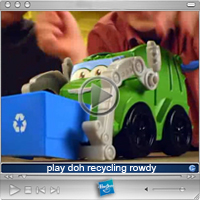 video: play doh recycling rowdy