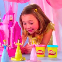 PLAY-DOH Disney Princess Prettiest Princess Castle Commercial