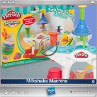 Tv-reklame : Playdoh Milkshake Machine