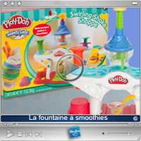Publicité télé: La Fountaine Play-Doh à smoothies