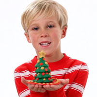 PLAY-DOH Look What I Made Chistmas Tree Video