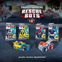 PLAYSKOOL - Pub TV - Transformers Rescue Bots