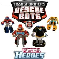 PLAYSKOOL HEROES TRANSFORMERS - Demo